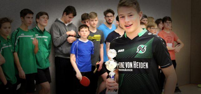 Johanniter-Jugendclubs messen sich im Tischtennis